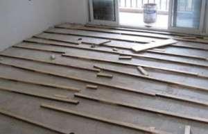地板基层施工方案承德